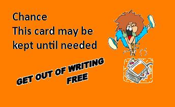 Get Out of Writing Free Card