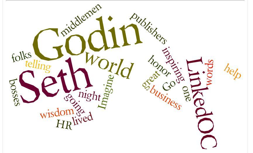 Seth Godin words